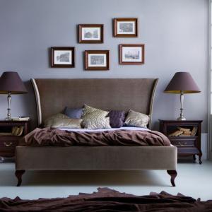 Łóżko Classic to elegancki mebel do sypialni w klasycznym stylu. Fot. Taranko