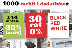 Wiosenne rabaty w Black Red White