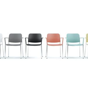 Krzesła Zoo. Fot. Profim