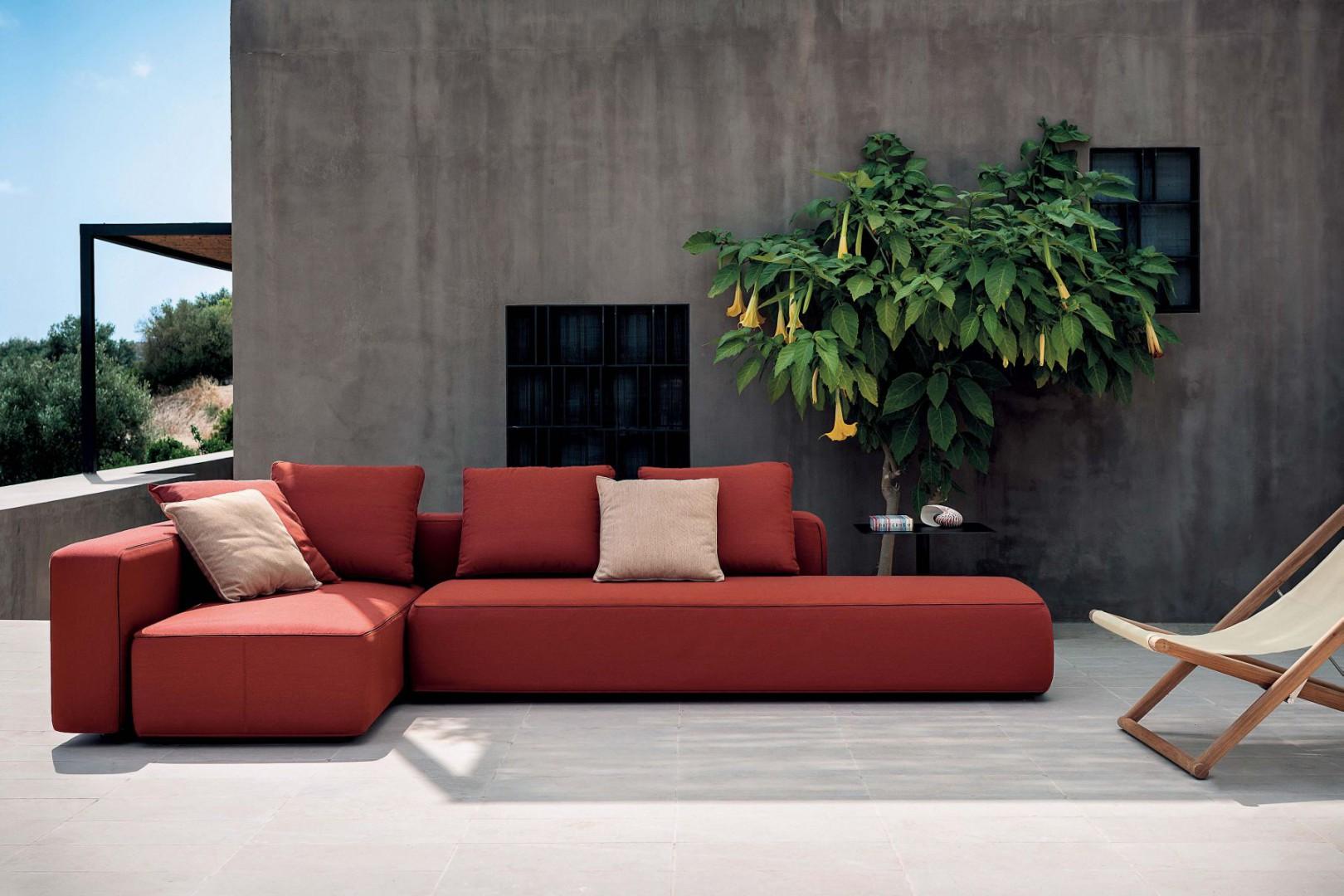 Sofa Dandy włoskiej marki Roda. Fot. Roda