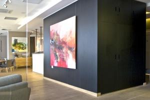 Szkło ornamentowe do mebli