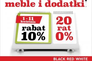 Z Black Red White korzystasz podwójnie - promocja na meble