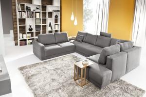 5 inspiracji na szarą sofę