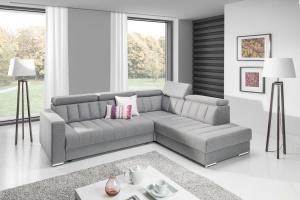 Sofa w salonie. Nowości z funkcją spania z polskich sklepów