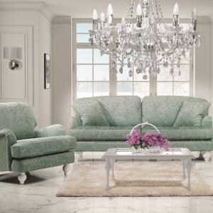 Romantyczny salon w stylu glamour. Fot. New Elegance