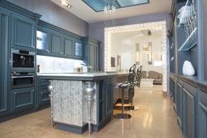 Kuchnia w stylu glamour - jakość i elegancja