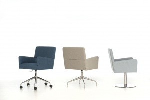 """Fotele o """"architektonicznych"""" bryłach"""