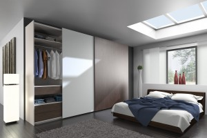 Szafy przesuwne w sypialni - sposób na uporządkowane wnętrze