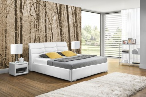 Łóżko w eleganckim stylu