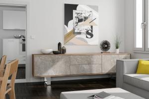Trendy w meblarstwie - dekor imitujący marmur