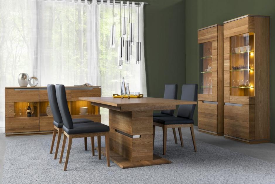 Stół z kolekcji Torino rozkłada się do ponad dwóch metrów. Fot. Szynaka Meble