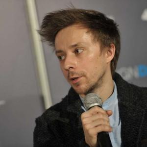 Łukasz Paszkowski, projektant.