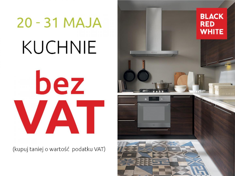 Stylowe kuchnie Black Red White bez VAT