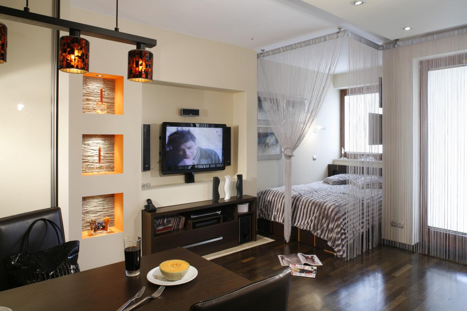 Urządzamy Salon Z Ukrytą Sypialnią Super Pomysł Na Małe