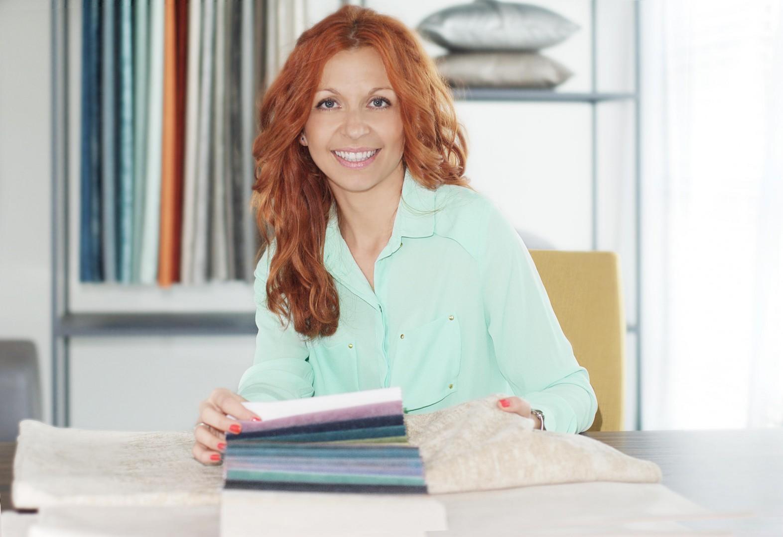 Monika Fedor, product manager firmy Fargotex. Fot. Fargotex