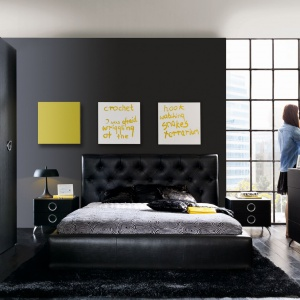 Łóżko Roksana. Fot. Black Red White