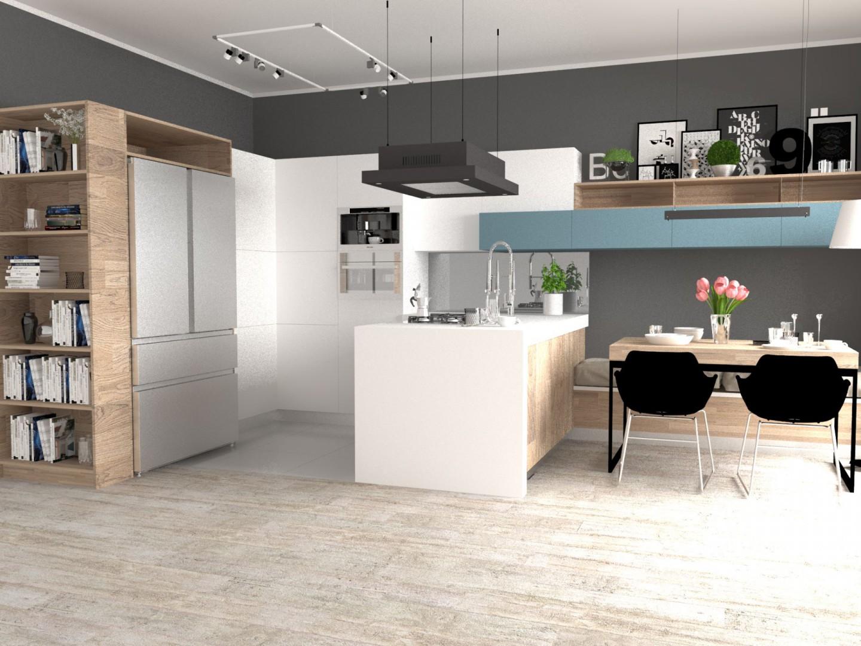 Urządzamy Jak Zaprojektować Kuchnię Z Dużą Lodówką