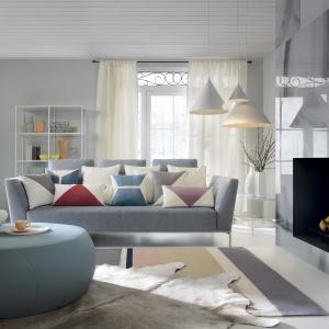 Sofa w tkaninie z kolekcji Magic Home. Fot. Fargotex