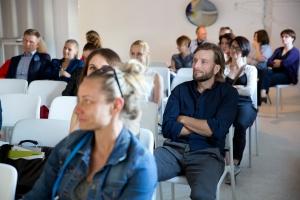 Robert Majkut i inni na spotkaniu dla architektów