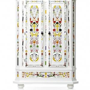 Altdeutsche Cabinet to bogactwo wzorów w klasycznej oprawie. Fot. Moooi
