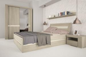 """""""Madras"""" - sypialnia w drewnie"""
