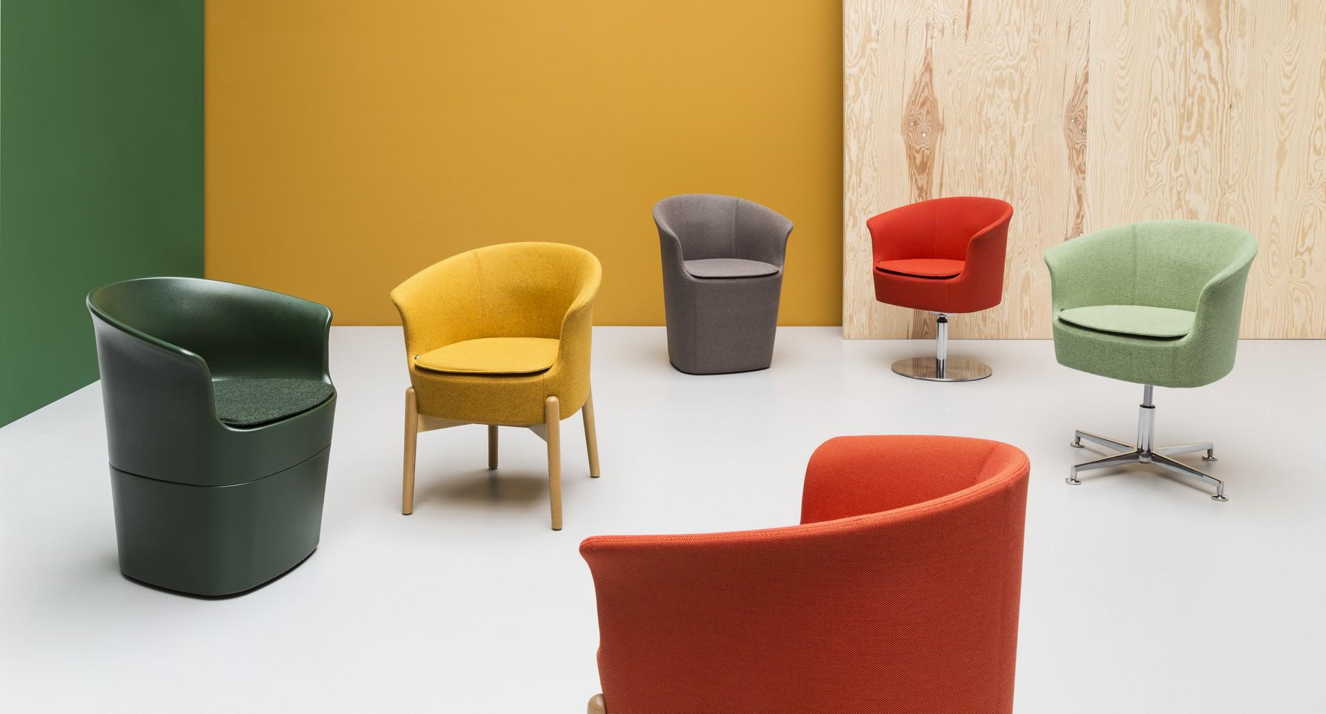 """Kolekcja foteli """"Tulli"""" (Noti). Fot. Noti"""