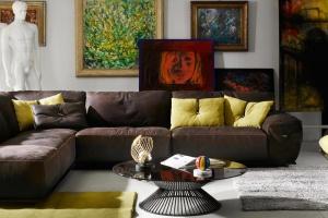 Sofa w salonie. Eleganckie i stylowe modele