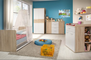 Pokój dziecka. Śliczne łóżeczka dla niemowlaka