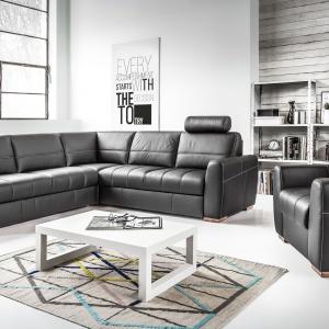 Klasyczny w formie zestaw Orso. Fot. Etap Sofa
