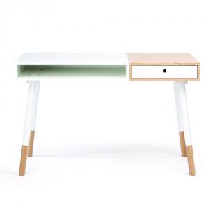 Lekkie biurko z szufladką. Fot. Bonami