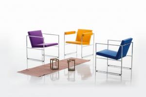 Fotele o minimalistycznej formie