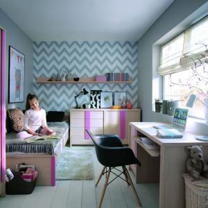 Kolekcja modułowa Caps to duża ilość brył, dzięki którym stworzysz funkcjonalną przestrzeń dziecięcą w domu. Fot. BRW