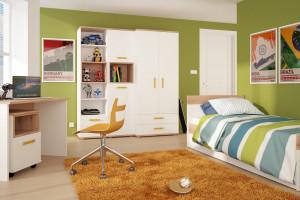 Strefa przechowywania w pokoju dziecka - 20 inspiracji