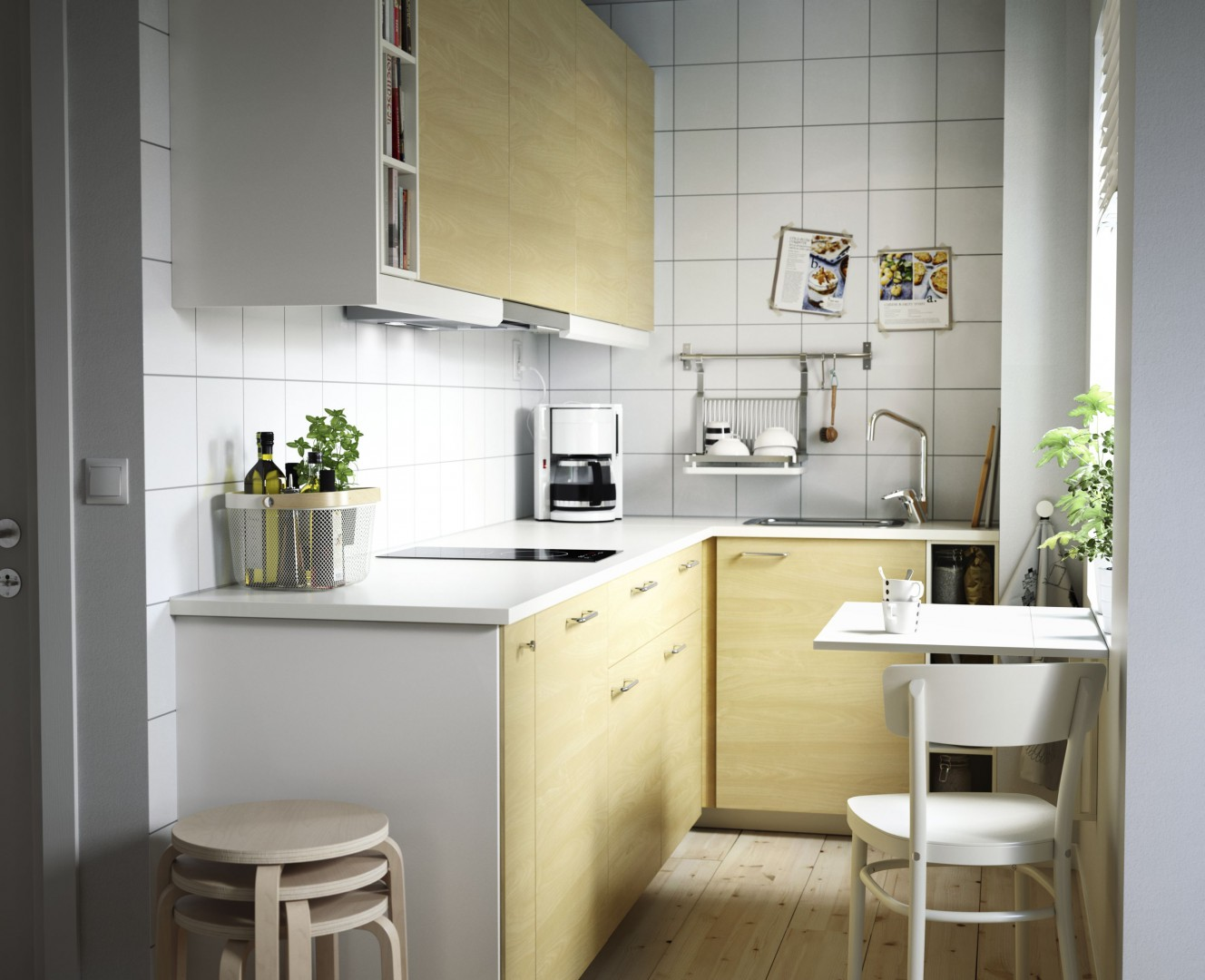 Rynek Mebli Kuchnia W Małym Mieszkaniu Producenci