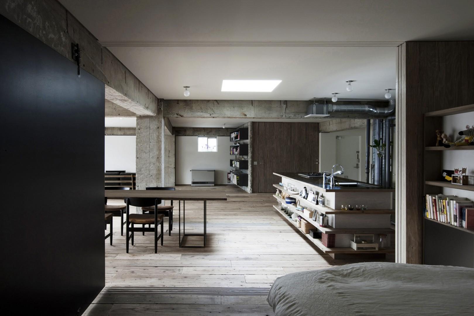 Wnętrze w stylu loft. Fot. Pfleiderer