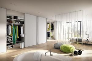 Drzwi przesuwne w sypialni - najciekawsze rozwiązania