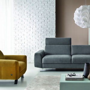 Nowoczesny w formie zestaw Pi. Fot. Etap Sofa