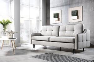 Sofa w salonie. Te meble są na topie