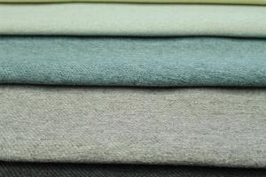 Tkanina o pastelowej kolorystyce