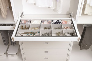Praktyczna aluminiowa szuflada
