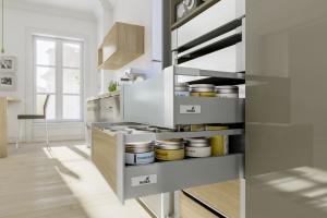 Meble w mieszkaniu. Praktyczne szafy z szufladami