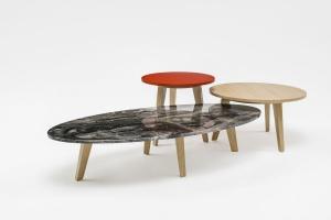 Kolekcja mobilnych stolików