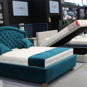Łóżka z materacami marki Senactive. Fot. Archiwum