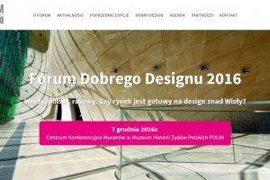 Nowa strona internetowa Forum Dobrego Designu