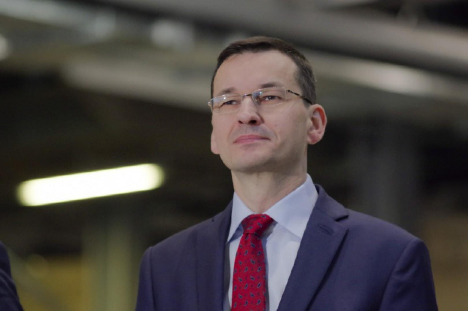 Minister Mateusz Morawiecki. Fot. PTWP (Piotr Waniorek)