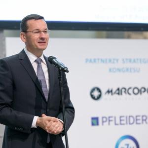 Wicepremier Mateusz Morawiecki był gościem Kongresu.