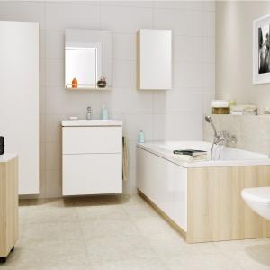 Meble łazienkowe z kolekcji Smart.. Fot. Cersanit