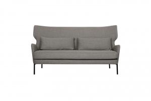 Sofa z wysokim oparciem