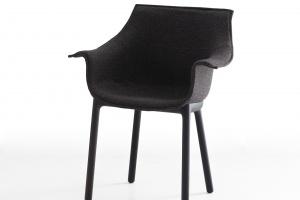 Krzesło z jednego kawałka tkaniny