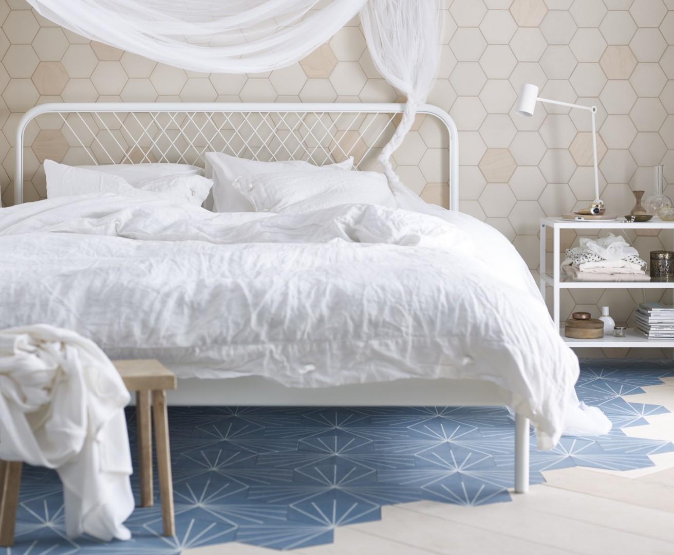 Łóżko Nesttun z oferty IKEA. Fot. IKEA